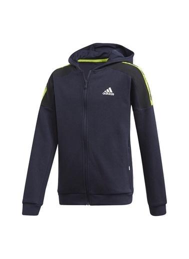adidas Unisex Çocuk B Br Fz Sweatshirt GE0906 Lacivert